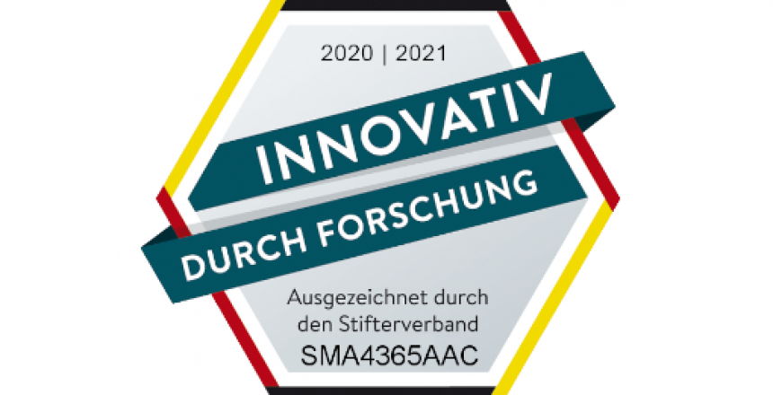 Auszeichnung Innovativ durch Forschung